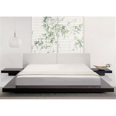 low platform bed frame low profile platform bed frame homesfeed