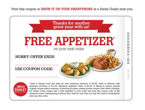 printable restaurant coupons winnipeg swiss chalet free appetizer coupon until sept 30