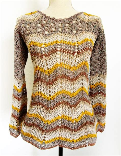 Boho New Pattern boho chic ripple crochet tunic top sofia with pattern