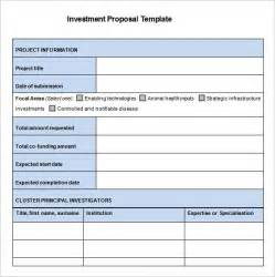 investment summary template investment templates 11 free sle exle