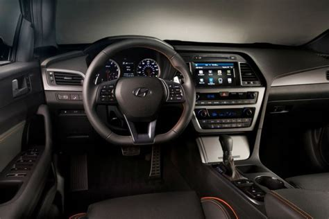 Hyundai Sonata Interior Dimensions by 2018 Hyundai Sonata Redesign And Specs 2017 2018 World