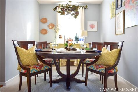 colorful global eclectic dining room reveal casa