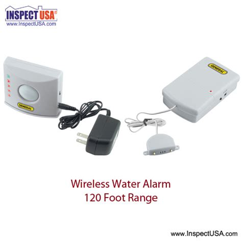 inspectusa wireless water alarm kit wa700 with 1