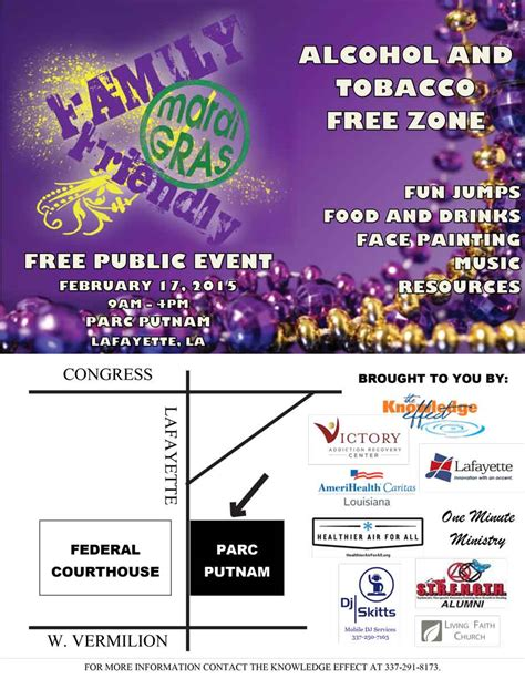 Victory Detox Center by Victory Sponsors Family Friendly Mardi Gras Event