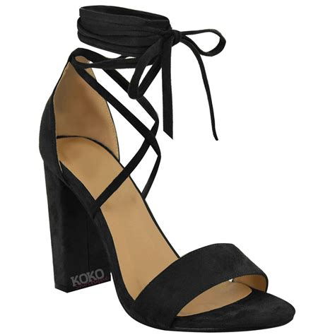 tie up sandals lace tie up ankle wrap around sandals womens high
