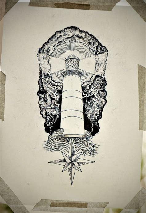 tattooed heart white house lighthouse tattoo by guilherme hass via behance