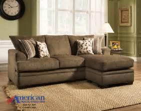 american sofa american furniture 3657 cornell cocoa sofa chaise