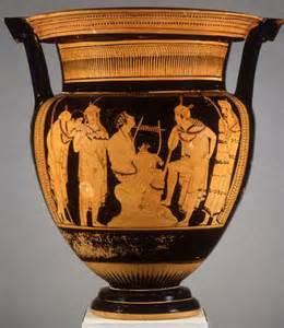 miti greci nella ceramica attica orfeo