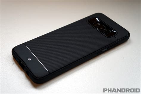 Original Caseology Galaxy S8 Vault I Black best samsung galaxy s8 plus cases