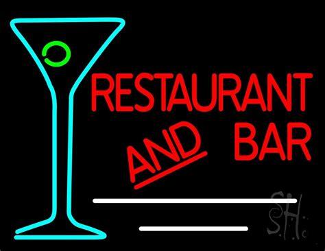 martini bar sign restaurant and bar with martini glass neon sign martini