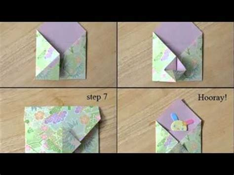 Origami Envelope Flower - origami envelope