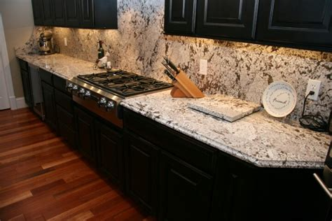 Bianco Antico Granite With White Cabinets by Black Cabinets Bianco Antico Granite Home