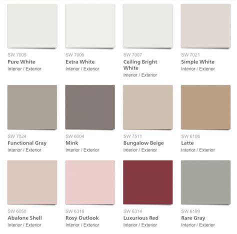 colors summer 2017 pottery barn 2017 spring summer paint colors