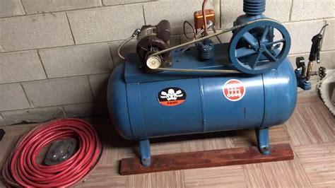 1950 devilbiss air compressor revisited 2017