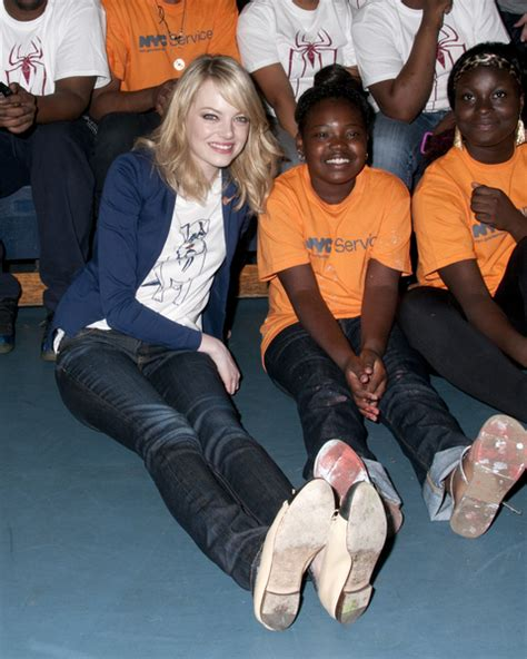 emma stone charity 187 uncategorized ny blondes hot celebrities and models in ny