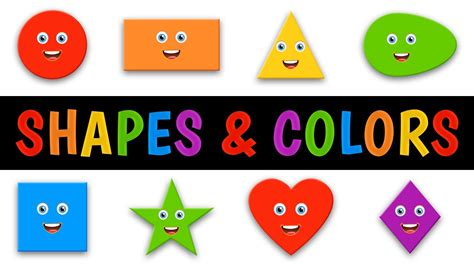 shapes and colors colors and shapes song for children