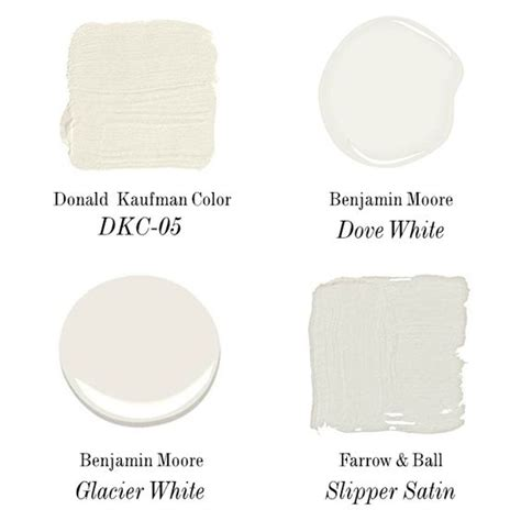 paint colors white doves and trim color on
