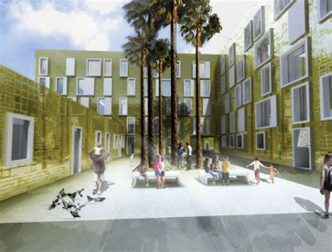 housing project design mecanoo malaga social housing project spain