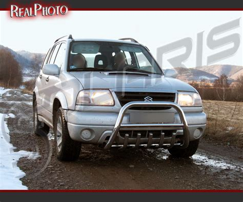 Suzuki Nudge Bar Suzuki Grand Vitara 98 05 Bull Bar Nudge Bar A Bar