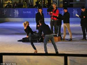 day on the tips from a professional skating coach and books one direction s harry styles takes a tumble at the