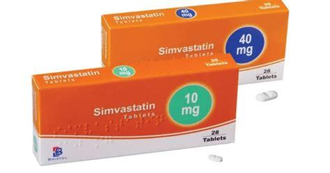 Obat Penurun Kolesterol Simvastatin komposisi dan efek sing simvastatin tablet penurun