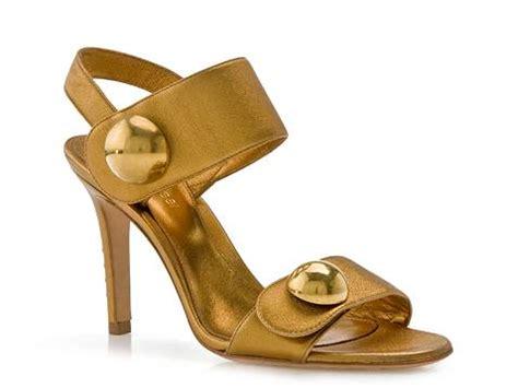 gold sandals dsw sergio gold button sandal dsw