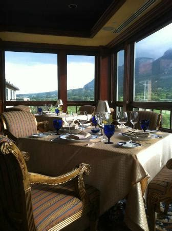 the penrose room table and the view from the penrose room picture of penrose room colorado springs tripadvisor