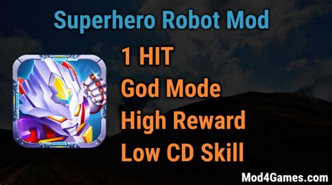 game ksatria online mod 1 hit superhero robot hacked game mod apk free archives