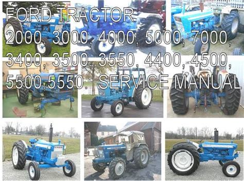 Details About Ford Tractor 2000 3000 4000 5000 3400 3500