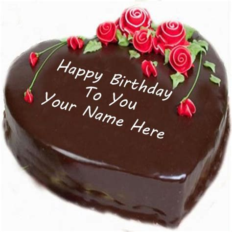 Happy Birthday Cards With Name Edit Birthday Cake With Name Edit For Facebook Clipartsgram Com