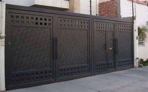 portones para cocheras portones de herrer 237 a dise 241 os que har 225 n lucir la fachada