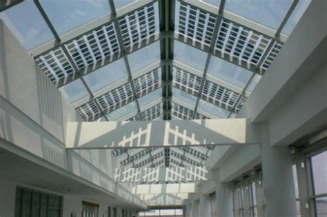 largest transparent photovoltaic roof in the us