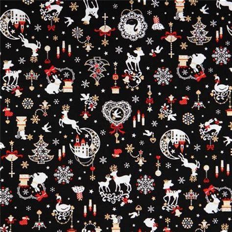 christmas pattern fabric uk 20 best christmas fabric images on pinterest christmas
