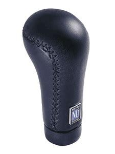 Black Leather Shift Knob by Nardi Shift Knob Prestige Black Leather