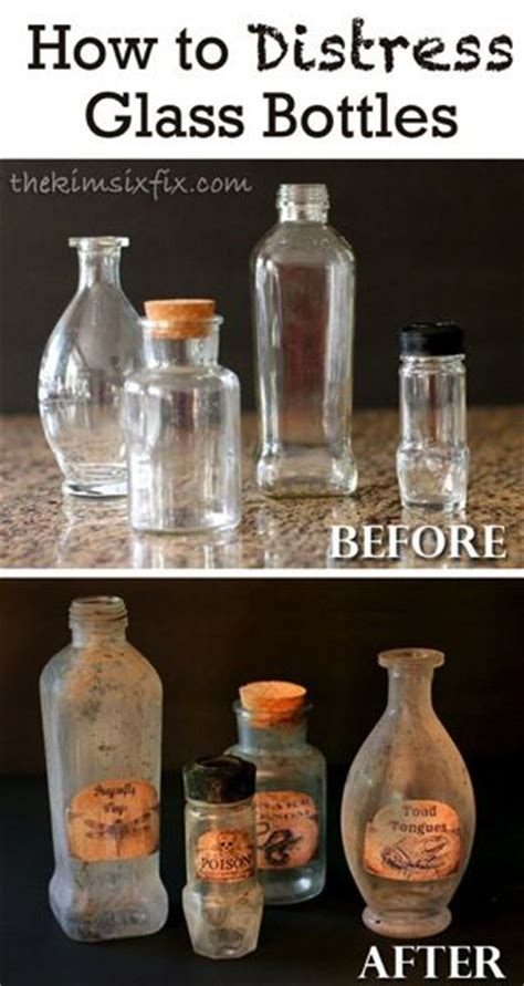 How To Make Paper Like Plastic - 25 best ideas about vintage bottles on
