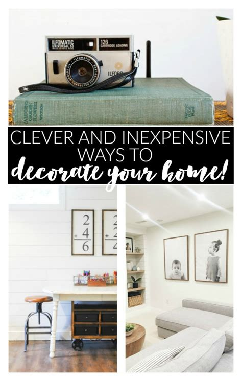 Inexpensive Ways To Decorate Your Home by Clever And Inexpensive Ways To Decorate Your Home