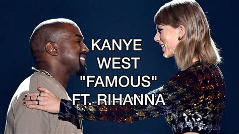 life of pablo taylor swift lyrics video kanye west famous ft rihanna official audio