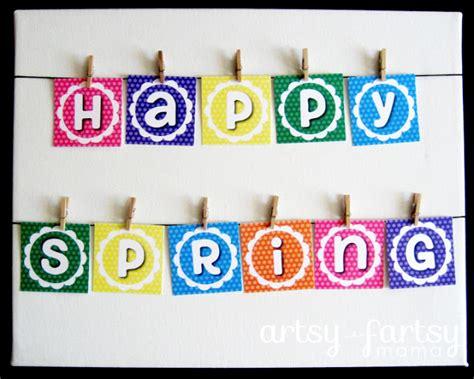 printable banner spring free printable spring banner artsy fartsy mama