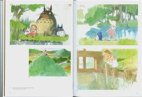 totoro picture book remembrance of things past ghibli books my
