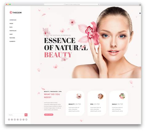34 Beautiful Spa Beauty Salon Wordpress Themes 2018 Colorlib Cosmetic Website Templates