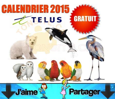 Calendrier Coupon Rabais Calendrier Telus 2015 Gratuit