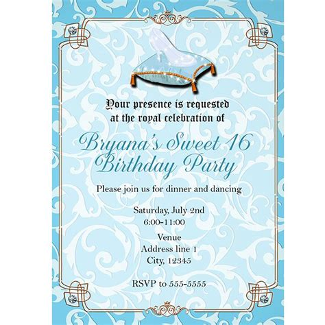 cinderella themed quinceanera invitations 220 best tori s quinceanera ideas images on pinterest
