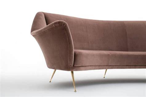 bergamo sofa curved sofa by isa bergamo at 1stdibs