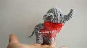canal crochet elefante amigurumi tutorial