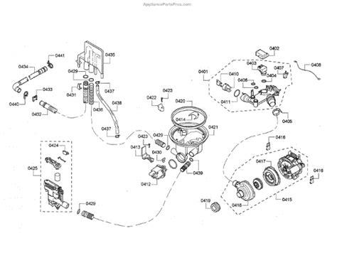 bosch dishwasher circulation wiring diagram