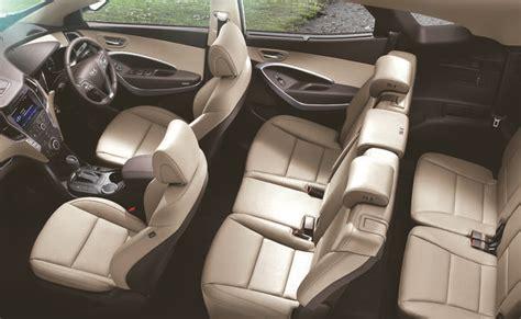 Hyundai Santa Fe Interior by Hyundai Santa Fe India Price Review Images Hyundai Cars