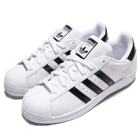 adidas originals superstar j white black junior shoes sneakers db1209 ebay