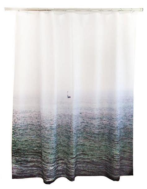 Sailboat Shower Curtains Sailboat Shower Curtain Design By Elise Flashman Burke Decor