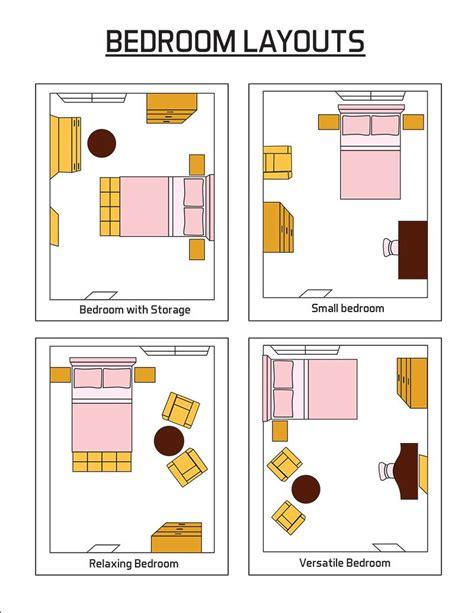 Bedroom Arrangement Ideas by Bedroom Layout Ideas Design Pictures Designing Idea