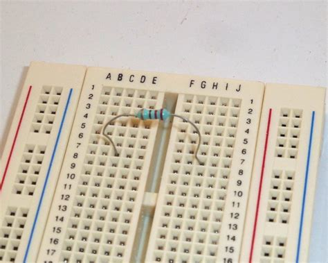 resistor on breadboard how to debug your circuit build electronic circuits